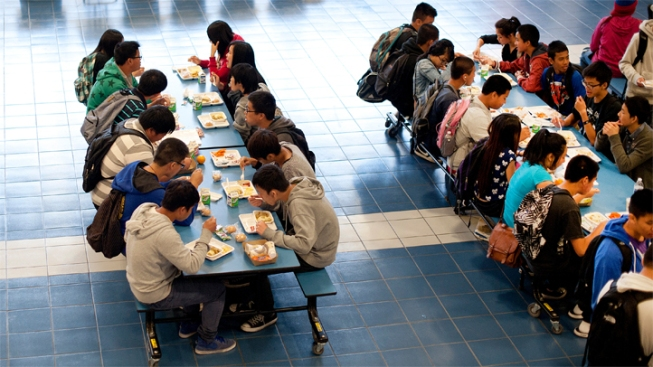 should students have open campus lunch periods