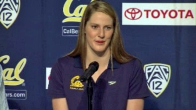 Missy Franklin Ready for First Day of Class at Cal