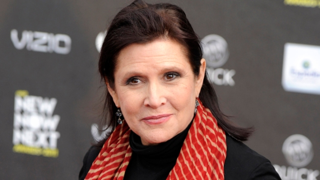 Carrie Fisher Working Out For New 'Star Wars' Role