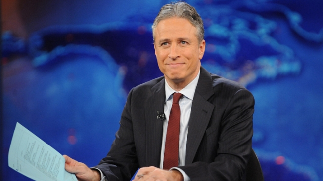 """Cash of the Titans"": Jon Stewart Mocks Romney's Financier"