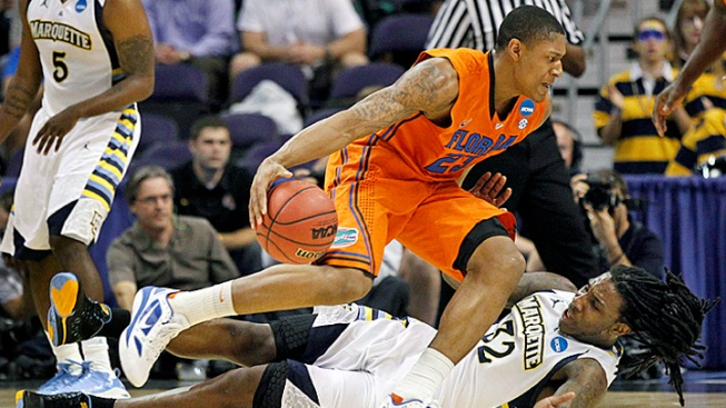 Fla. Beats Marquette 68-58 with Boost from Beal