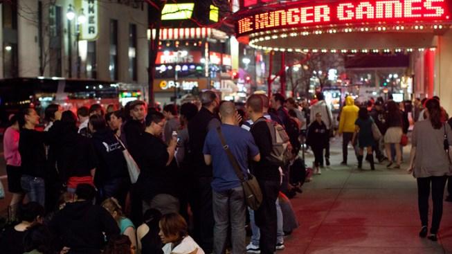 """Hunger Games"" Nabs $19.7 Mil. Midnight Gross"