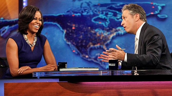 "Michelle Obama Recounts Teen Barack's ""Click-In Moment"""