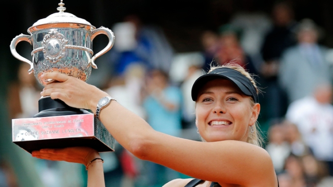Maria Sharapova Wins French Open to Complete Career Grand Slam