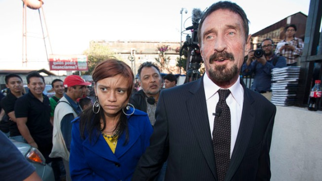 Anti-Virus Founder McAfee Released, Heads to U.S.