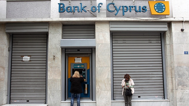"Cyprus' Economy ""on the Brink,"" Its Biggest Bank Warns"