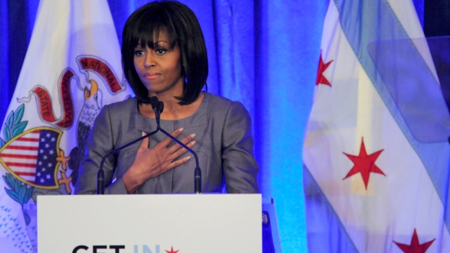 "First Lady to Chicago Youth: You Are ""Not Alone"""