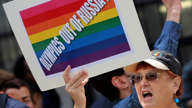 Russia Will Enforce Anti-Gay Law During Olympics