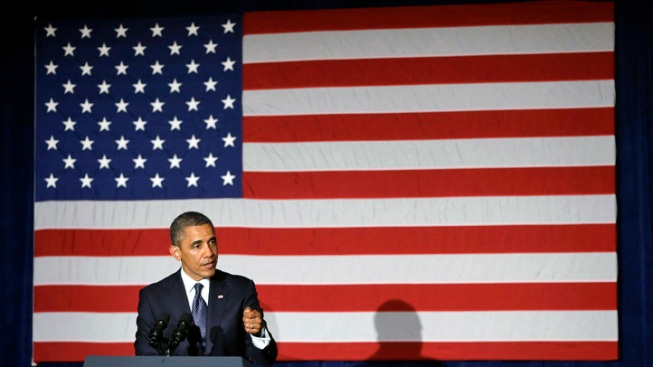 Pool Report: Obama Delivers Message of Optimism, Urges Supporters to Stay Engaged
