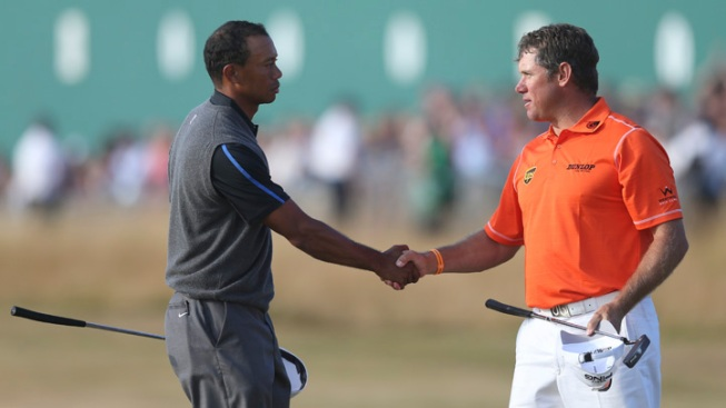 Westwood Leads Woods Going to Final Round of Open