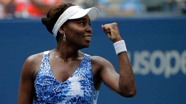 Venus Williams Knocks Out Anett Kontaveit at US Open