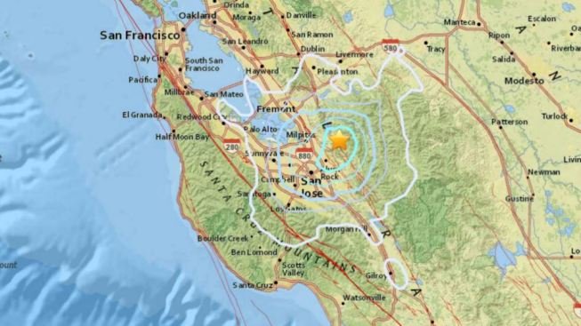 Magnitude 3 8 Earthquake Rattles South Bay Nbc Bay Area