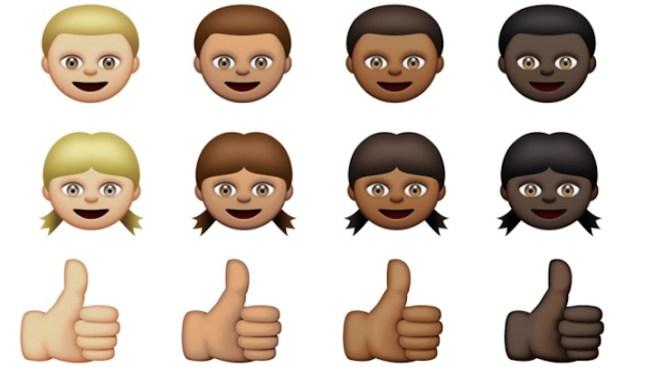 Apple Develops More Racially Diverse Emojis: Report