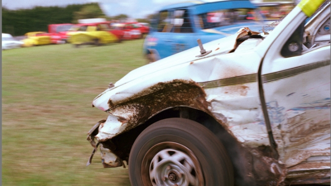 Man Gets DUI - In Demolition Derby