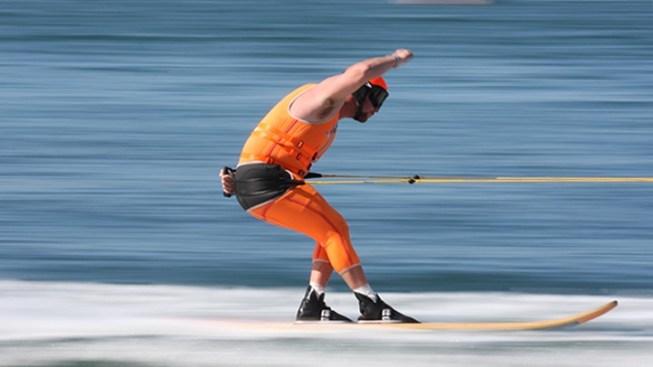 Water Skiing to Catalina Island