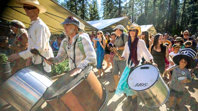Sound the Drums for California WorldFest