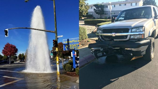 23-Year-Old Man Arrested After Crashing Into Fire Hydrant, Fleeing the Scene in Campbell