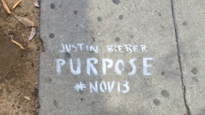 Justin Bieber's Graffiti Advertising Hits Sour Note with San Francisco Residents