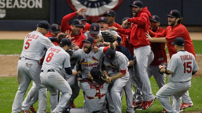 Cardinals Fly to World Series With Game 6 Win