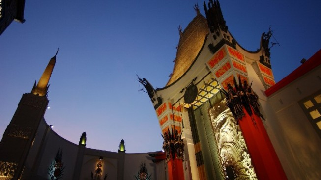 Rare Tribute: Chinese Theatre to Dim Lights for Robin Williams