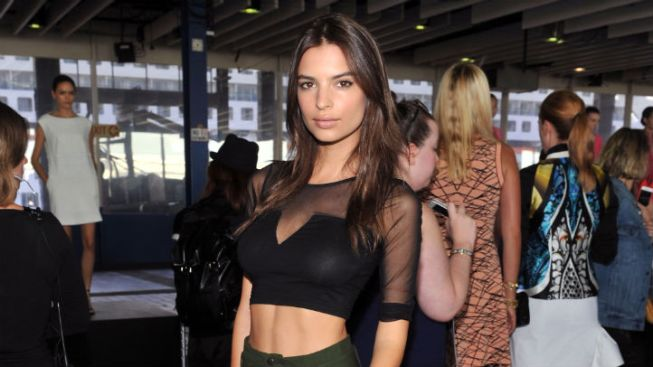 """Gone Girl"" Casting: ""Blurred Lines"" Model Emily Ratajkowski to Play Ben Affleck's Mistress"