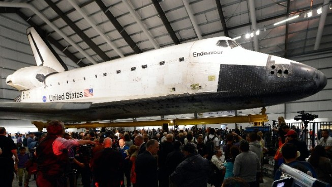 Shuttle Endeavour Is Major Draw at California Science Center