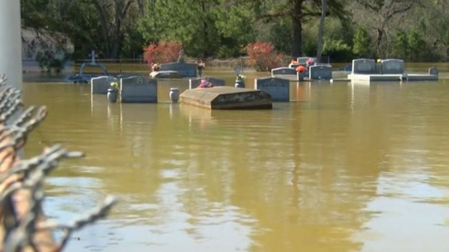 Flooding Brings Caskets to Surface in Louisiana