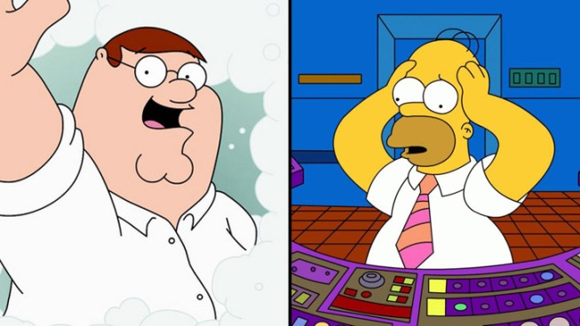 """The Simpsons"" to Meet the ""Family Guy"" in 2014 Crossover Episode"