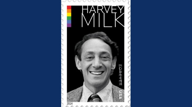 United States Postal Service Unveils Image for Harvey Milk Stamp