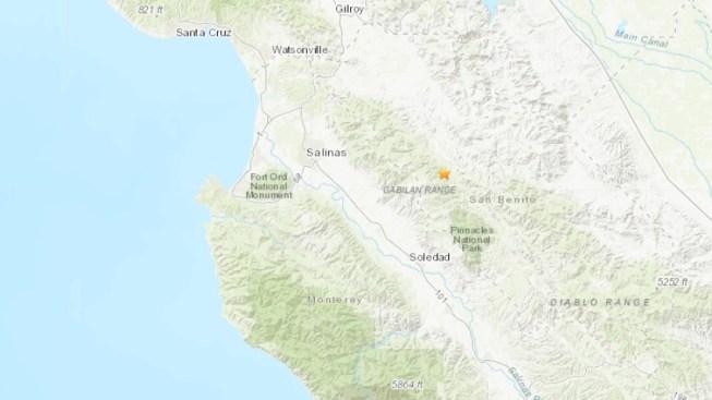 3.7 Magnitude Earthquake Strikes Outside Hollister