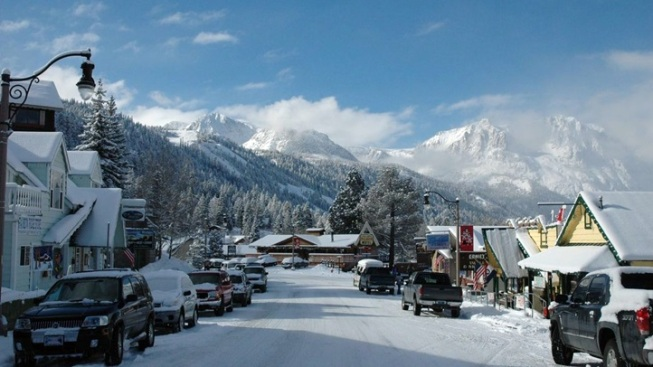 Wintertime in 'The Switzerland of California'