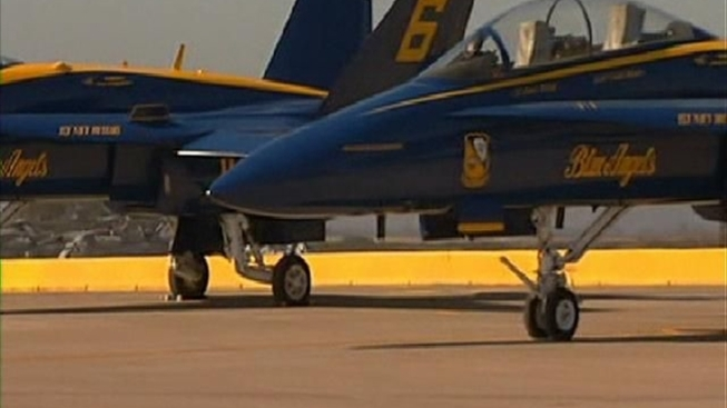 Blue Angels Begin Their Flights