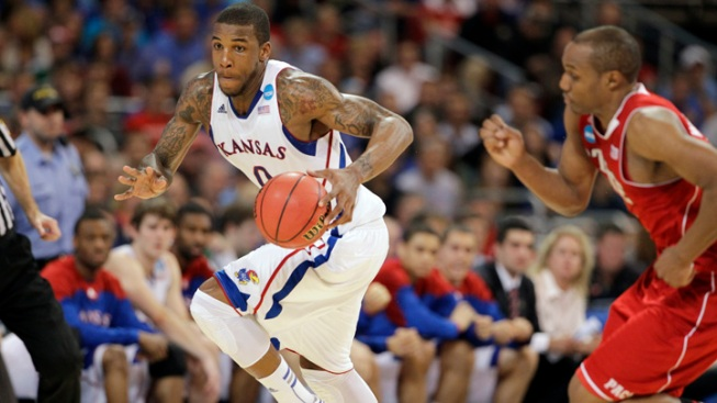 Robinson Leads Kansas to 60-57 Win Over NC State