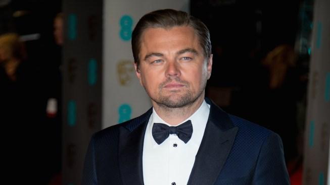 Russian Fans Present Leonardo DiCaprio With Homemade Oscar