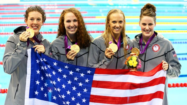 Dana Vollmer Wins Second Olympic Gold