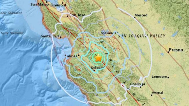 m4 7 earthquake hits south of san jose