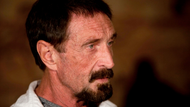 McAfee Arrives in U.S. From Guatemala