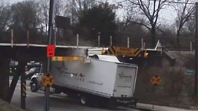 N.C. 'Can Opener' Bridge Continues to Slice Trucks