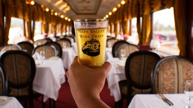 Dad's Day on the Napa Valley Wine Train