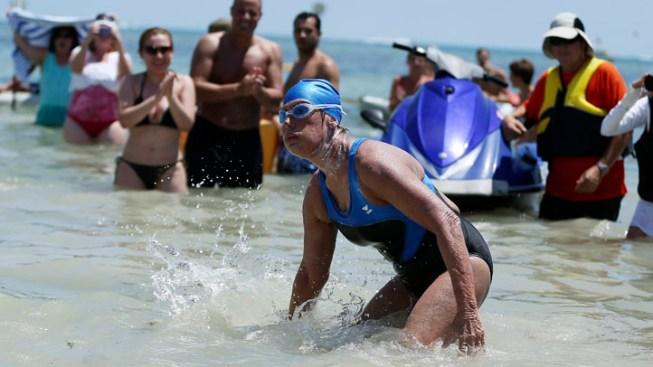 Diana Nyad's Team Responds to Skeptics Doubting Her Swim