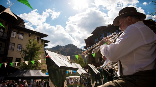 Squaw Valley: Oktoberfest Among Peaks