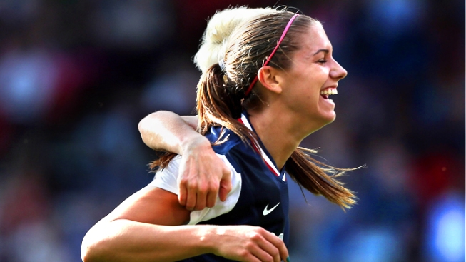 Cal's Alex Morgan Gets Two Goals in USA Win