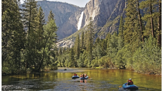 Raft Rentals Open in Yosemite Valley, Hurrah