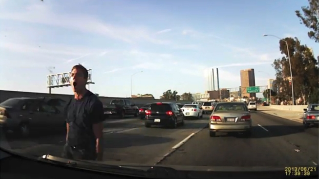 Los Angeles Road Rage Video Goes Viral