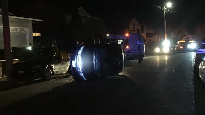 Driver Arrested for Suspected DUI After Rollover Crash in Rohnert Park