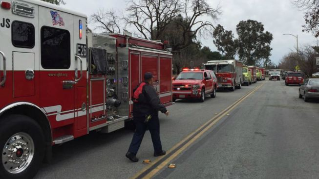 Man on Log Rescued From Coyote Creek in San Jose