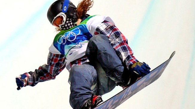Tahoe Boarders Ride Shaun White's Half-Pipe