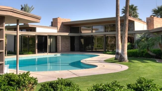Frank Sinatra's Desert Home: Peek Inside