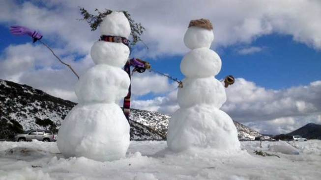 Snow Expected in Sierra This Weekend