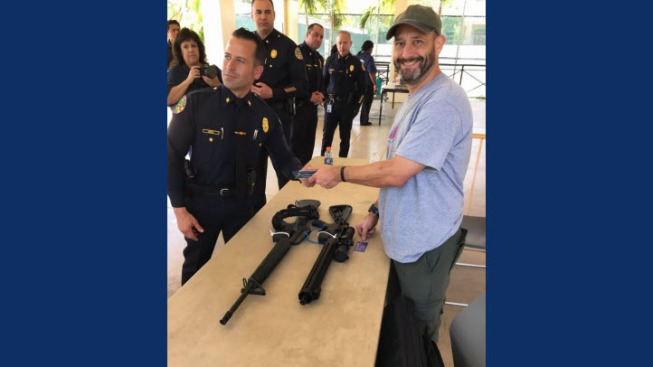 Bay Area Native Goes Viral on Facebook After Turning in His ARs Following Florida School Shooting
